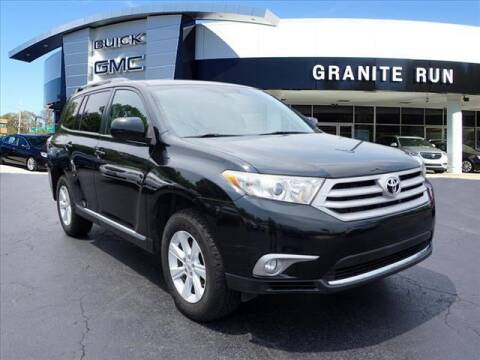 2013 Toyota Highlander for sale at GRANITE RUN PRE OWNED CAR AND TRUCK OUTLET in Media PA