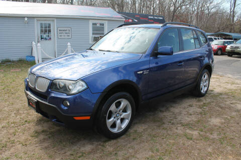 2008 BMW X3 for sale at Manny's Auto Sales in Winslow NJ