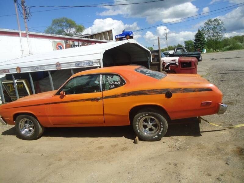 1974 Plymouth Duster for sale at Marshall Motors Classics in Jackson MI