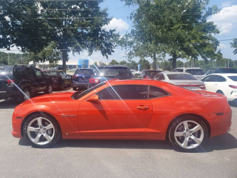 2010 Chevrolet Camaro for sale at Econo Auto Sales Inc in Raleigh NC