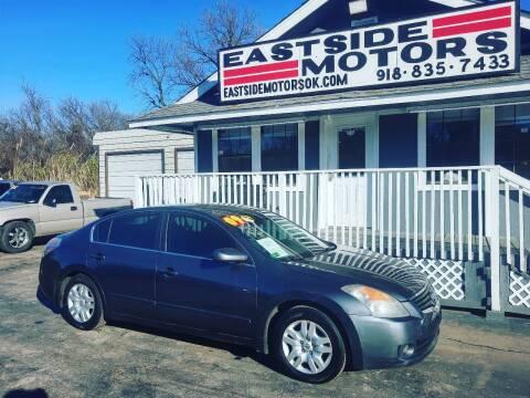 2009 Nissan Altima for sale at EASTSIDE MOTORS in Tulsa OK