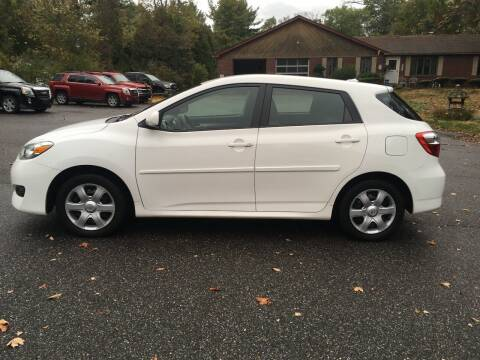 2010 Toyota Matrix for sale at Lou Rivers Used Cars in Palmer MA