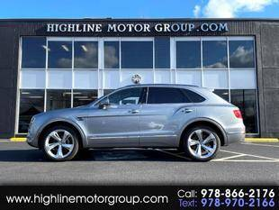2017 Bentley Bentayga for sale at Highline Group Motorsports in Lowell MA