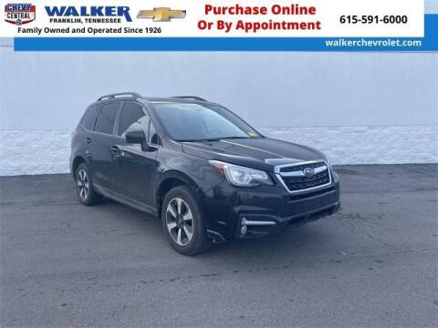 2018 Subaru Forester for sale at WALKER CHEVROLET in Franklin TN