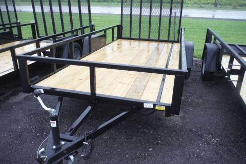 2021 Quality Steel 6 X 14 LANDSCAPE for sale at Bryan Auto Depot in Bryan OH