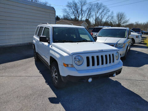 2016 Jeep Patriot for sale at K & P Used Cars, Inc. in Philadelphia TN