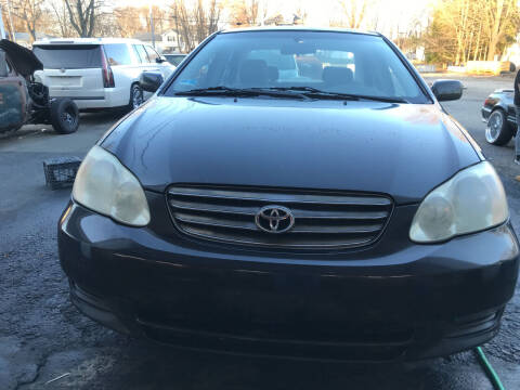 2003 Toyota Corolla for sale at Worldwide Auto Sales in Fall River MA