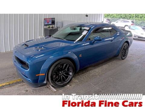 2021 Dodge Challenger for sale at Florida Fine Cars - West Palm Beach in West Palm Beach FL