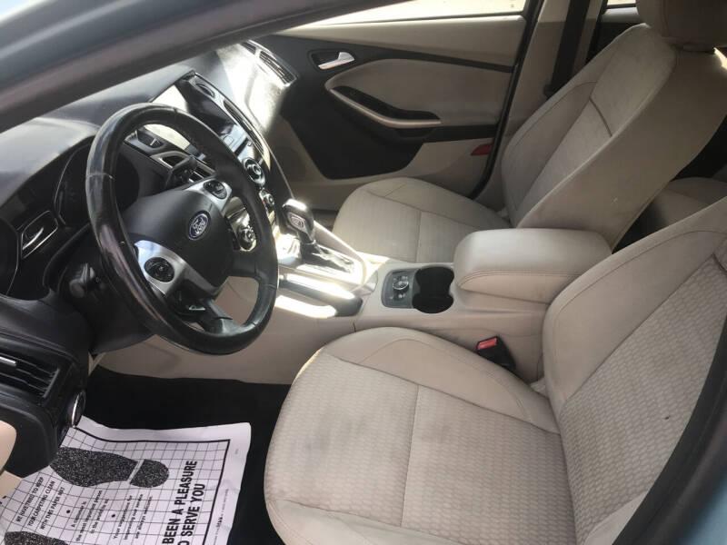 2012 Ford Focus SEL 4dr Sedan - Fort Scott KS