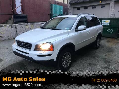 2008 Volvo XC90 for sale at MG Auto Sales in Pittsburgh PA
