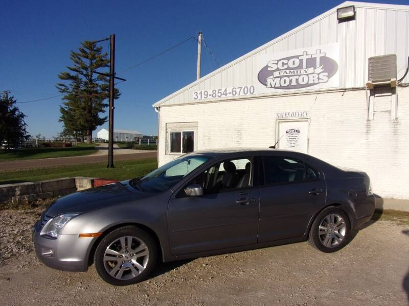 2007 Ford Fusion for sale at SCOTT FAMILY MOTORS in Springville IA