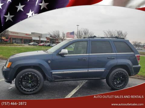 2009 Jeep Grand Cherokee for sale at Auto Outlet Sales and Rentals in Norfolk VA