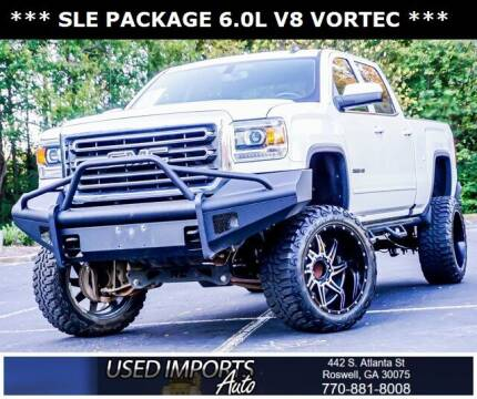 2016 GMC Sierra 2500HD for sale at Used Imports Auto in Roswell GA