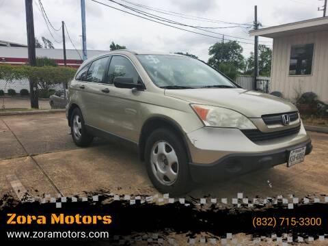 2009 Honda CR-V for sale at Zora Motors in Houston TX