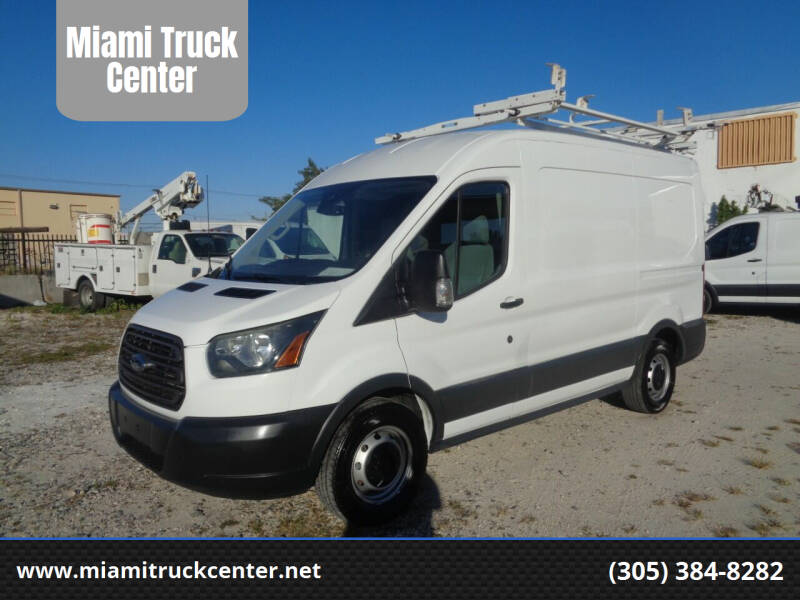 2015 Ford Transit Cargo for sale at Miami Truck Center in Hialeah FL