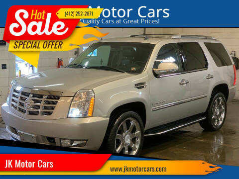 2008 Cadillac Escalade for sale at JK Motor Cars in Pittsburgh PA