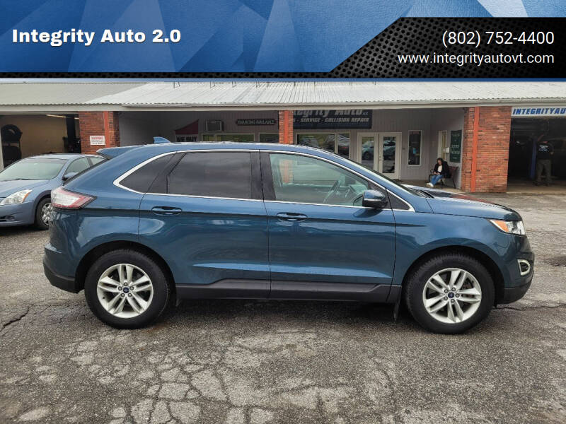 2016 Ford Edge for sale at Integrity Auto 2.0 in Saint Albans VT