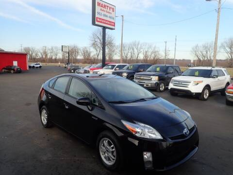 2010 Toyota Prius for sale at Marty's Auto Sales in Savage MN