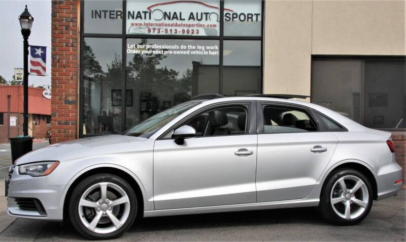 2015 Audi A3 for sale at INTERNATIONAL AUTOSPORT INC in Pompton Lakes NJ