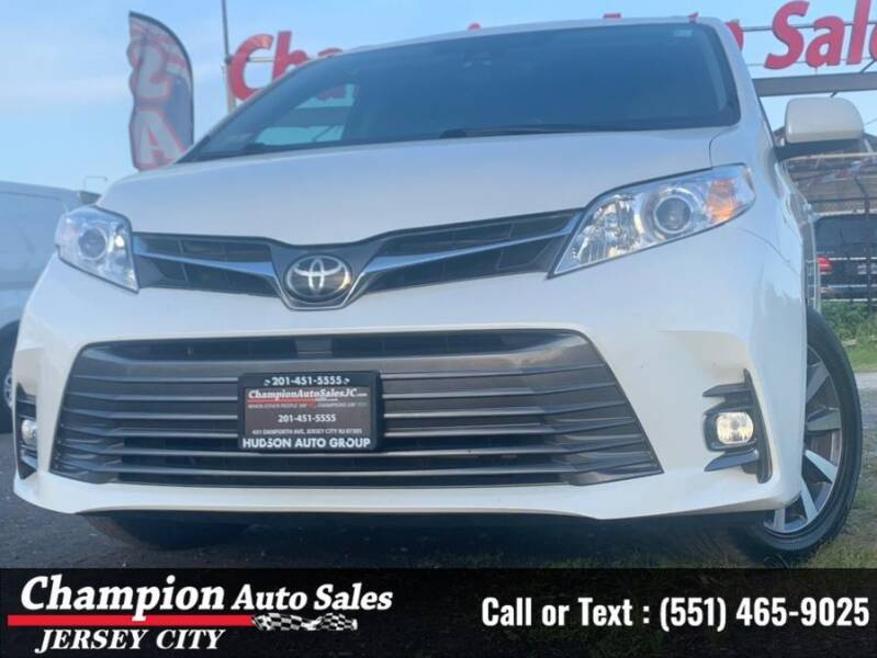 2018 Toyota Sienna for sale at CHAMPION AUTO SALES OF JERSEY CITY in Jersey City NJ