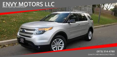 2011 Ford Explorer for sale at ENVY MOTORS LLC in Paterson NJ