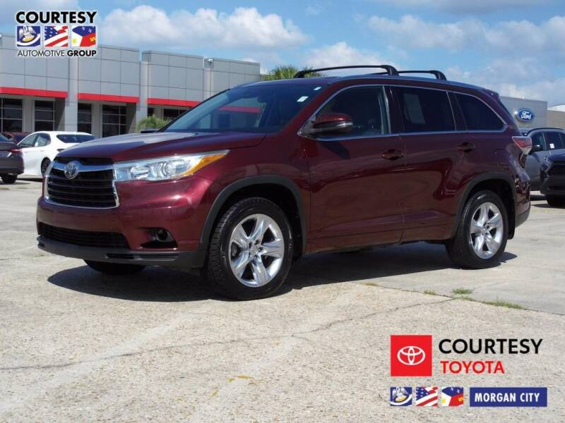 2015 Toyota Highlander for sale at Courtesy Toyota & Ford in Morgan City LA