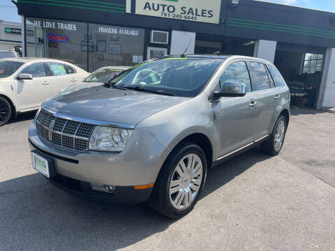 2008 Lincoln MKX for sale at Wakefield Auto Sales of Main Street Inc. in Wakefield MA