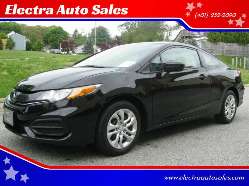 2014 Honda Civic for sale at Electra Auto Sales in Johnston RI