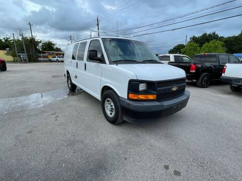 2017 Chevrolet Express Cargo for sale at RODRIGUEZ MOTORS CO. in Houston TX