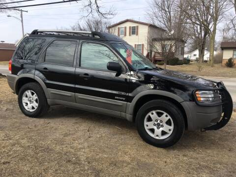 2002 Ford Escape for sale at Antique Motors in Plymouth IN