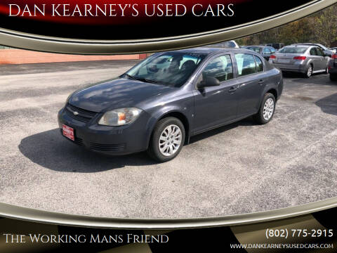 2009 Chevrolet Cobalt for sale at DAN KEARNEY'S USED CARS in Center Rutland VT