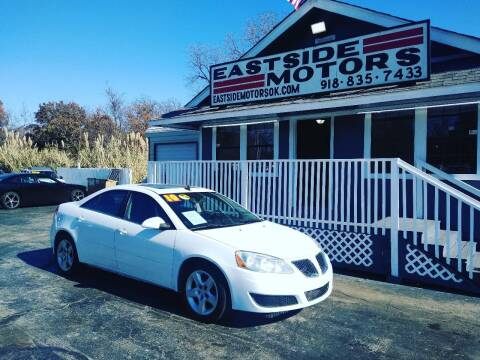 2010 Pontiac G6 for sale at EASTSIDE MOTORS in Tulsa OK
