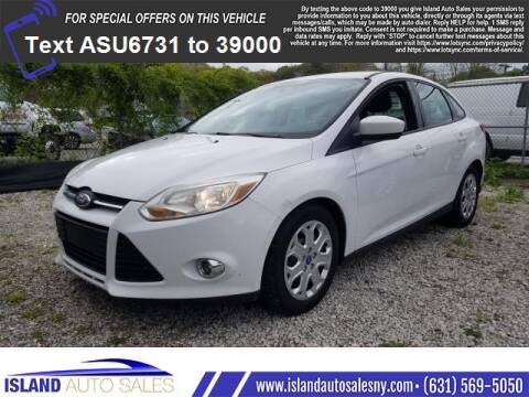 2012 Ford Focus for sale at Island Auto Sales in E.Patchogue NY