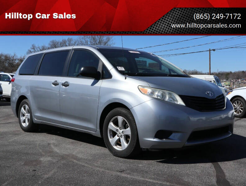 2013 Toyota Sienna for sale at Hilltop Car Sales in Knoxville TN