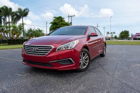 2017 Hyundai Sonata for sale at Guru Auto Sales in Miramar FL