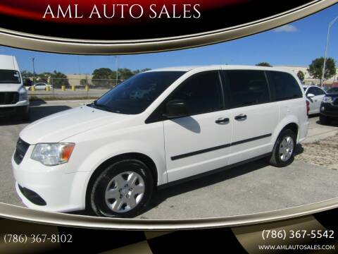 2013 Dodge Ram Cargo for sale at AML AUTO SALES - Cargo Vans in Opa-Locka FL