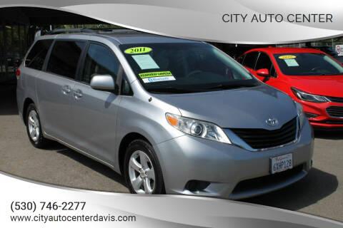 2011 Toyota Sienna for sale at City Auto Center in Davis CA