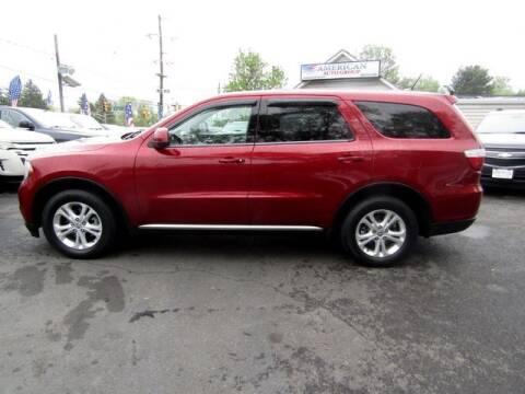 2013 Dodge Durango for sale at American Auto Group Now in Maple Shade NJ