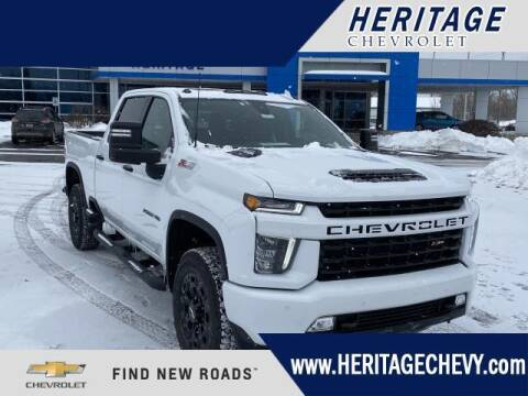2021 Chevrolet Silverado 2500HD for sale at HERITAGE CHEVROLET INC in Creek MI
