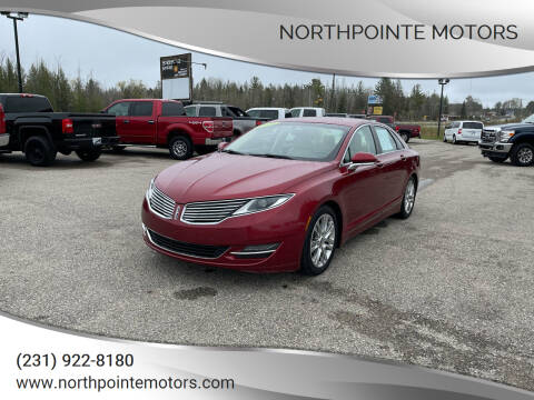 2014 Lincoln MKZ for sale at Northpointe Motors in Kalkaska MI