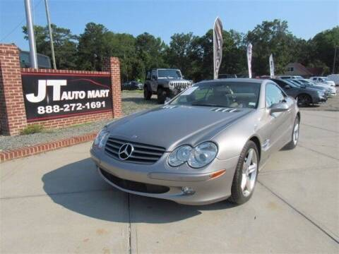 2004 Mercedes-Benz SL-Class for sale at J T Auto Group in Sanford NC