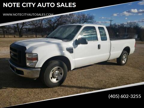 2008 Ford F-250 Super Duty for sale at NOTE CITY AUTO SALES in Oklahoma City OK