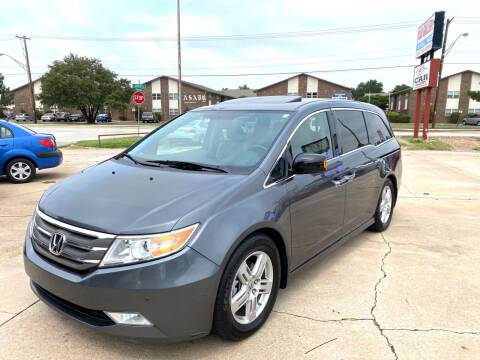 2013 Honda Odyssey for sale at Car Gallery in Oklahoma City OK
