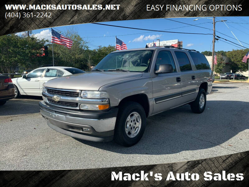 2006 Chevrolet Suburban for sale at Mack's Auto Sales in Forest Park GA