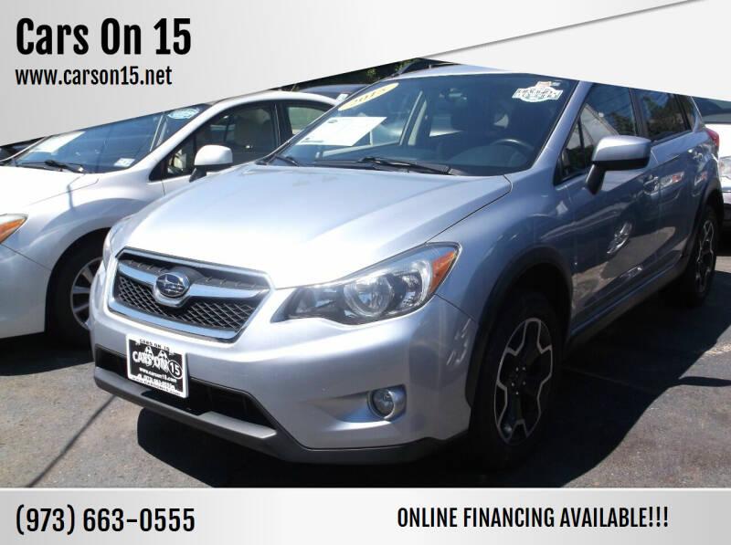 2015 Subaru XV Crosstrek for sale at Cars On 15 in Lake Hopatcong NJ