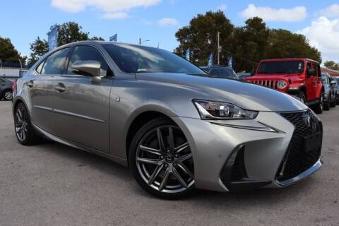 2018 Lexus IS 300 for sale at OCEAN AUTO SALES in Miami FL