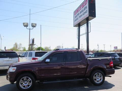 2008 Ford Explorer Sport Trac for sale at United Auto Sales in Oklahoma City OK