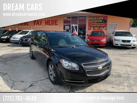 2012 Chevrolet Malibu for sale at DREAM CARS in Stuart FL