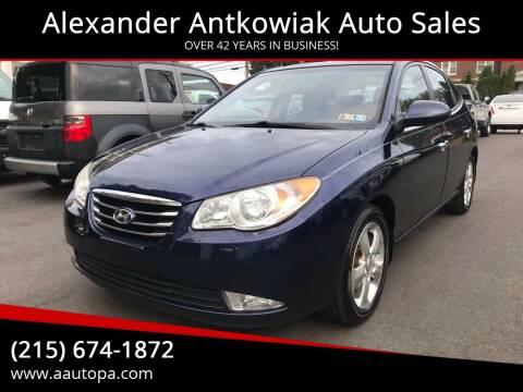 2010 Hyundai Elantra for sale at Alexander Antkowiak Auto Sales in Hatboro PA