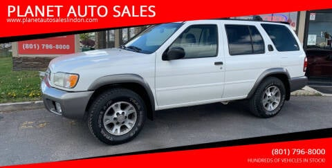 2001 Nissan Pathfinder for sale at PLANET AUTO SALES in Lindon UT